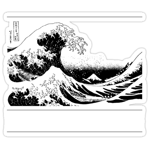 Great Wave Off Kanagawa by zedsdead