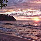 Costa Rican Sunset by jwinman