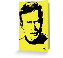William Shatner Star Trek Greeting Card