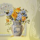 Flowers In Vase by swtcountry51