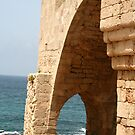 The Sea Seen Through the Arch by Nira Dabush