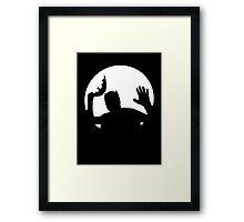 Moonlight Batman Framed Print