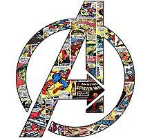 Avengers symbol! Photographic Print