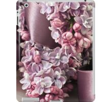 Lilac And Ribbon Curls iPad Case/Skin