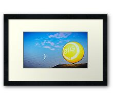 Game Photography Framed Print
