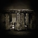Stone Henge II by Damienne Bingham