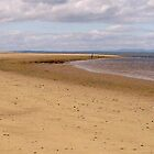 Central panel of Findhorn Bay triptych by Tez Watson