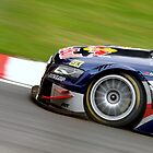 #1 Mattias Ekstrom Audi Sport Team Abt Sportline Sweden Red Bull Nose Front Wheel by SparkyHew