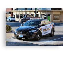 Newton Police Canvas Print
