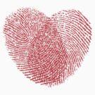 Fingerprint heart by sgame