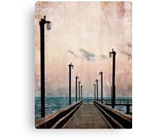 Community Pier Canvas Print