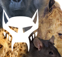 beast mode Sticker