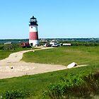 #492  Sankety Lighthouse  - Nantucket, Massachusetts by MyInnereyeMike