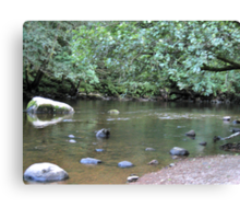 River Valley - Calm Water Canvas Print