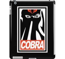 Obey Cobra! iPad Case/Skin