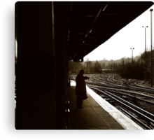 Redhill - Waiting Canvas Print