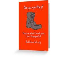 Portkey Greeting Card