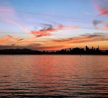 San Francisco Sunset by Richard  Leon