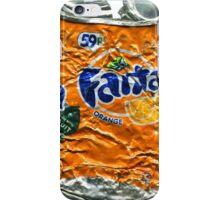 Fanta Orange - Crushed Tin iPhone Case/Skin