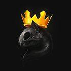Cat And Crown by Jamie Flack