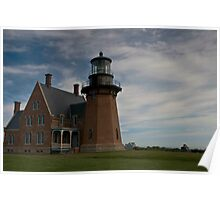 Block Island - South Lighthouse Poster