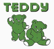 TEDDY BEARS GREEN by IMPACTEES