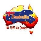 Motorhome on Australian colours. by Jose M.F. Rebelo