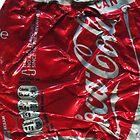 Coca Cola - Crushed Tin - 2 by Jovan Djordjevic