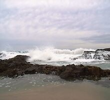 Crashing Waves by JuliaWright