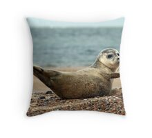 Goodbye....don't forget me! Throw Pillow