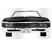 1967 Chevy Impala Poster