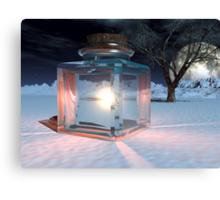 Jar of Light Canvas Print
