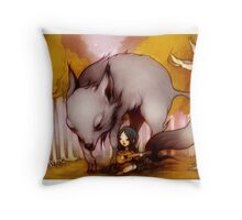 Wolf Lullaby  Throw Pillow