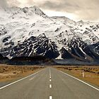 The Road to Aoraki by Robert Scammell