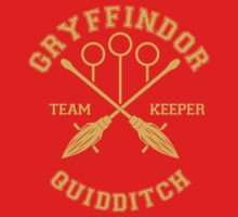Gryffindor - Team Keeper by quidditchleague