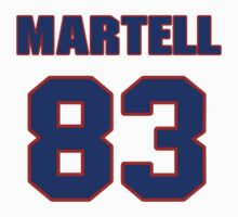 National football player Martell Webb jersey 83 by imsport