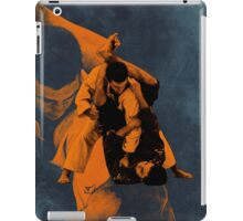 2015 Jiu Jitsu Triangle Setup iPad Case/Skin