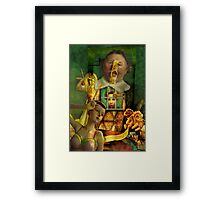 The Importance of Being Ernest (Collaboration) Framed Print