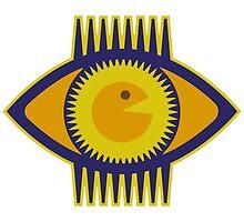 Big Yellow Eye by Rif Khasanov