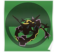 Rayquaza - Sunset Shores Poster