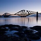 Forth Bridge Dawn by David Queenan