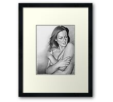 Study of a Woman I Framed Print