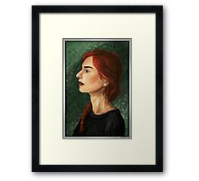 Cold Embers Framed Print