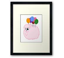 Balloon Adventure Framed Print