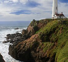 Pigeon Point Lighthouse III by Jenn Ramirez