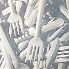 Plastic Forks by Stephen Thomas