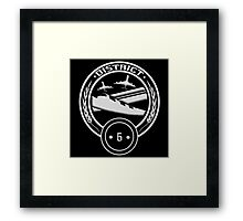 District 6 - Transportation Framed Print