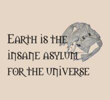 Earth: Insane Asylum by Rhonda Blais