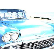 Bright Bleached Cadillac Hood by ceejaygraham