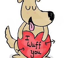 Love note - Dog by Mithila Ananth